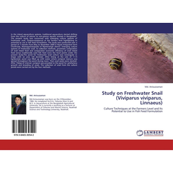 Study on Freshwater Snail (Viviparus viviparus Linnaeus) als Buch von Md. Anisuzzaman