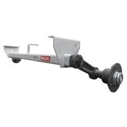 Achse VG7-L, 750 kg, 1125 mm, für PKW-Anhänger, UNGEBREMST, KNOTT