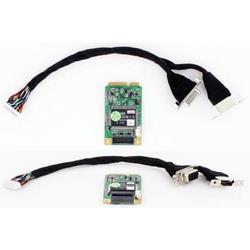 CarTFT VCC-540 Mini-PCIe (1x HDMI, 1x YPbPr, 1x DVI-D, 1x VGA Capture Card)