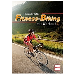 Fitness-Biking mit Workout; .