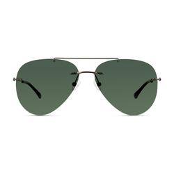Solaris polarisiert Metall Pilot Grau/Grau Sonnenbrille, Sunglasses | 0,00 | 0,00 | 0,00