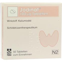 Jodinat 100 µg Tabletten