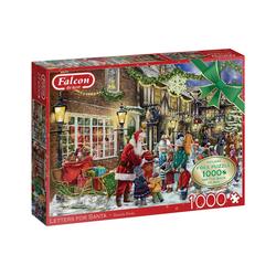 Falcon Puzzle Falcon 11343 Daniela Pirola Briefe für Santa, 1000 Puzzleteile bunt