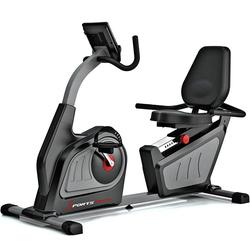 Sportstech Ergometer ES600, Liegeergometer Heimtrainer mit Rückenlehne