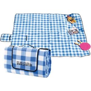 Fleece-Picknick-Decke mit wasserabweisender Unterseite, 200 x 175 cm