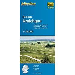Bikeline Radkarte Kraichgau - Buch