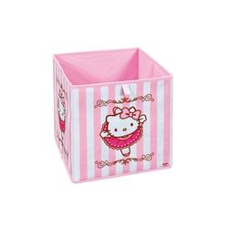 ebuy24 Aufbewahrungsbox HKB Aufbewahrungsbox pink, weiss.
