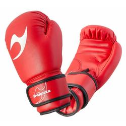 Boxhandschuhe Kinder rot (Größe: 6 Oz, Farbe: Rot)
