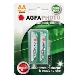AgfaPhoto Akku AA HR6 2100 mAh (2 Stück)