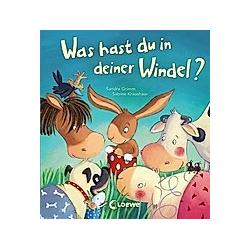 Was hast du in deiner Windel?. Sandra Grimm  Sabine Kraushaar  - Buch