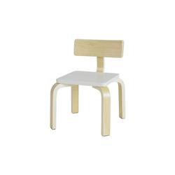SoBuy Stuhl KMB29 Kinderstuhl mit Rückenlehne Stuhl für Kinder weiß
