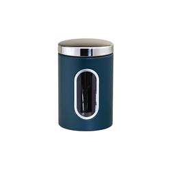 Michelino Aufbewahrungsdose Aufbewahrungsdose Edelstahl 1,5 Liter blau