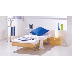 Einzelbett Bilbao - 90x200 cm - weiß