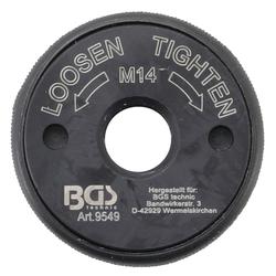 BGS 9549 Schnellspannmutter M14 für Winkelschleifer