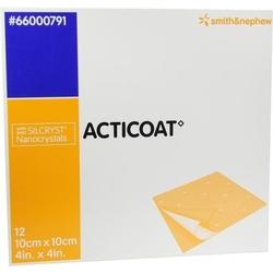 ACTICOAT 10x10 cm antimikrobielle Wundauflage 12 St.