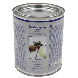 Sattlerspray AV Klebstoff Kleber 1 Liter Dose !!!Versand nur für Deutschland!!!
