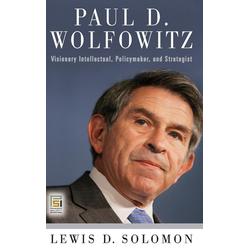 Paul D. Wolfowitz als Buch von Lewis Solomon