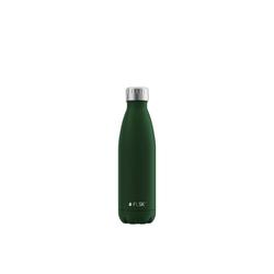 FLSK Isolierflasche, FLSK Trinkflasche Isolierflasche Edelstahl 500ml Doppelwandig Thermoflasche grün