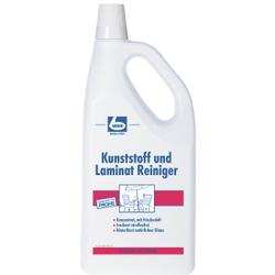 Dr. Becher Kunststoff und Laminat Reiniger, Reinigt einfach und schnell alle Kunststoffflächen, 2 Liter - Flasche