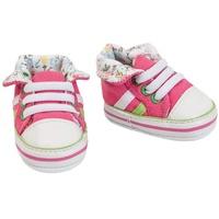 Heless Puppenkleidung Puppen-Schuhe Sneakers, pink, Gr. 38-45 cm