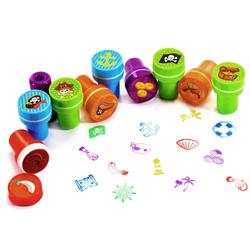 26 Kinder Stempel Piraten Stempelset selbstfärbend kreativ