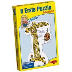 Haba Puzzle 6 Erste Puzzle - Baustelle, Puzzleteile