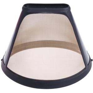 JHFF Wiederverwendbare Filtergröße 4 Goldfilter, Dauerfilter Permanenter Kaffeefilter, Größe 10-12 Tassen