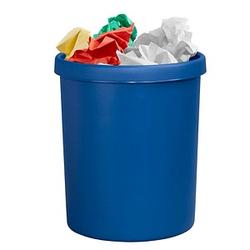 helit Papierkorb 45,0 l blau