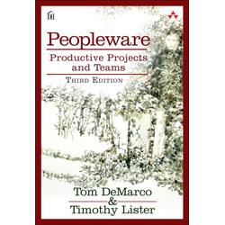 Peopleware als Buch von Tom DeMarco/ Tim Lister