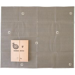 beegut XXL Bienenwachstuch für Brote, nachhaltiges Brottuch, aus Deutschland mit Bio Rohstoffen, plastikfrei Brot frisch halten 50x60cm