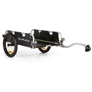 Burley 941202  Fahrrad Lasten Anhänger Alu faltbar FLATBED, 45kg Zuladung , 16 Zoll