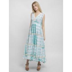 Apart Sommerkleid mit weitem Rockpart mit weitem Rockpart blau 40