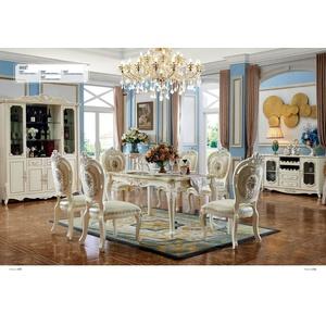 4x Stuhl Klassische Rokoko Barock Sessel Stühle Lehn Stuhl Polster Esszimmer 905