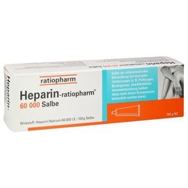 Ratiopharm Heparin Ratiopharm 60000 Salbe