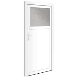 RORO Türen & Fenster Nebeneingangstür OTTO 21, BxH: 88x198 cm, weiß, ohne Griffgarnitur