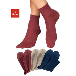 H.I.S Socken (6-Paar) in aktuellen Farben blau 35-38