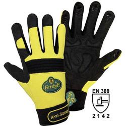 FerdyF. ANTI-SCHOCK 1970 Clarino®-Kunstleder Montagehandschuh Größe (Handschuhe): 7, S EN 388 CAT