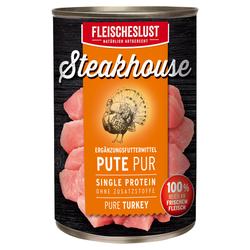 (5,59 EUR/kg) Fleischeslust Steakhouse Pute Pur 410 g