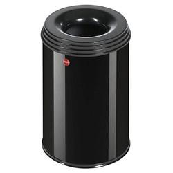 Hailo Profiline Safe M Papierkorb 14,0 l schwarz