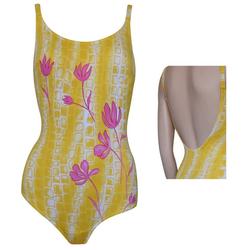 ELEMAR Badeanzug, eleMar Damen Bademode Badeanzüge Badeanzug Schwimmanzug Sommer gelb 36