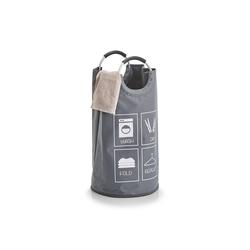 HTI-Living Wäschekorb Wäschesammler Flaschensammler (1 Stück) grau