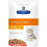 Hill's Prescription Diet Feline c/d Lachs 12 x 85 g
