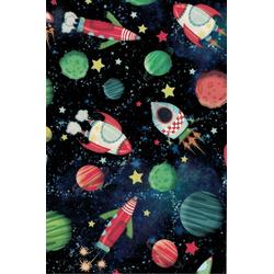 STAR Geschenkpapier, Geschenkpapier Kosmos 70cm x 2m, Rolle