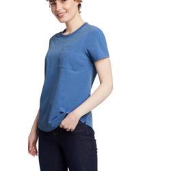 Eddie Bauer T-Shirt Departure T-Shirt mit Tasche blau L (42/44)