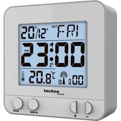 WT 235 silber - moderner Funkwecker mit Touch-Sensor