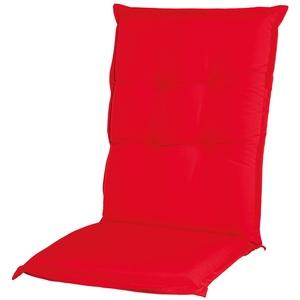 Adlatus-Kühnemuth - Gartenstuhlauflage - Polsterauflage - Sitzauflage - Classic Dessin 101, Farbe: rot (Hochlehner Auflage 120 x 50 cm)