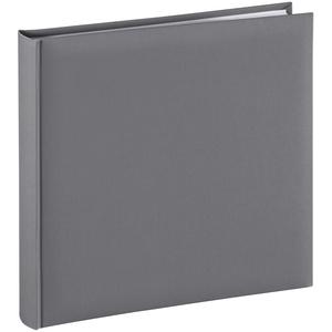 Hama Jumbo-Album Fine Art, 30x30 cm, 80 weiße Seiten, Grau
