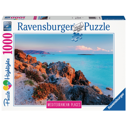 RAVENSBURGER Mediterranean Greece Puzzle Mehrfarbig
