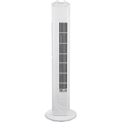 Basetech Turmventilator 40W (Ø x H) 22cm x 79cm Weiß