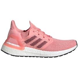 adidas Ultraboost 20 W glory pink/maroon/signal coral 38